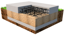 монолитная плита