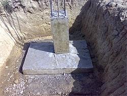 Столбчатый фундамент